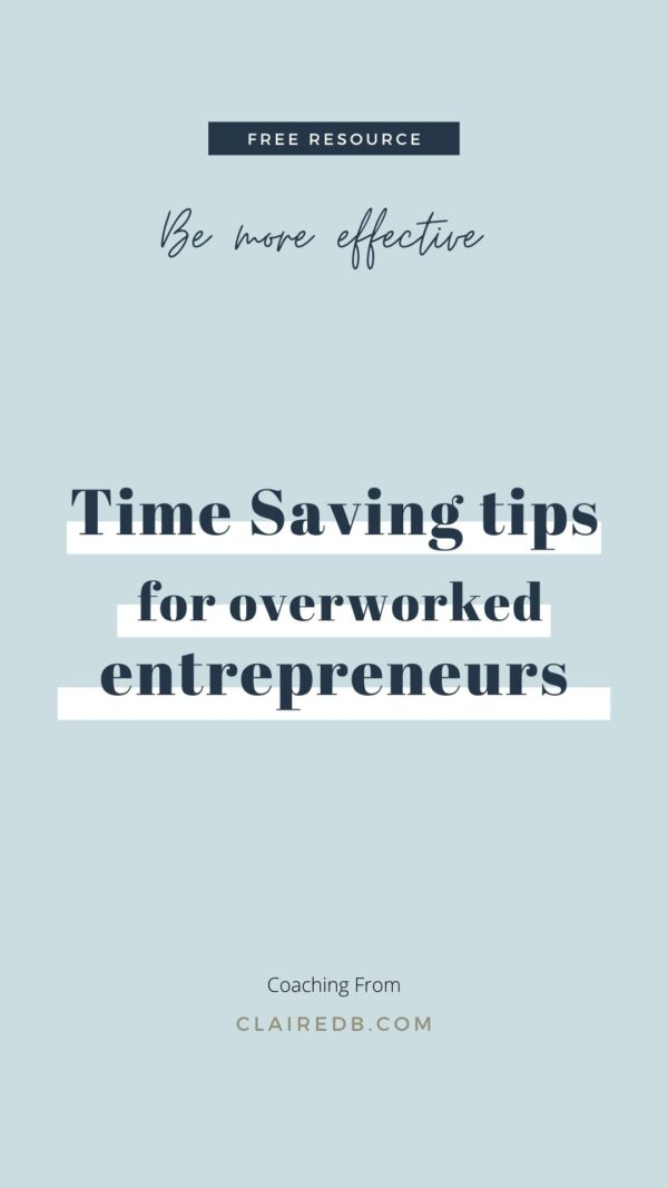 Time management techniques for entrepreneurs - be more effective with your time