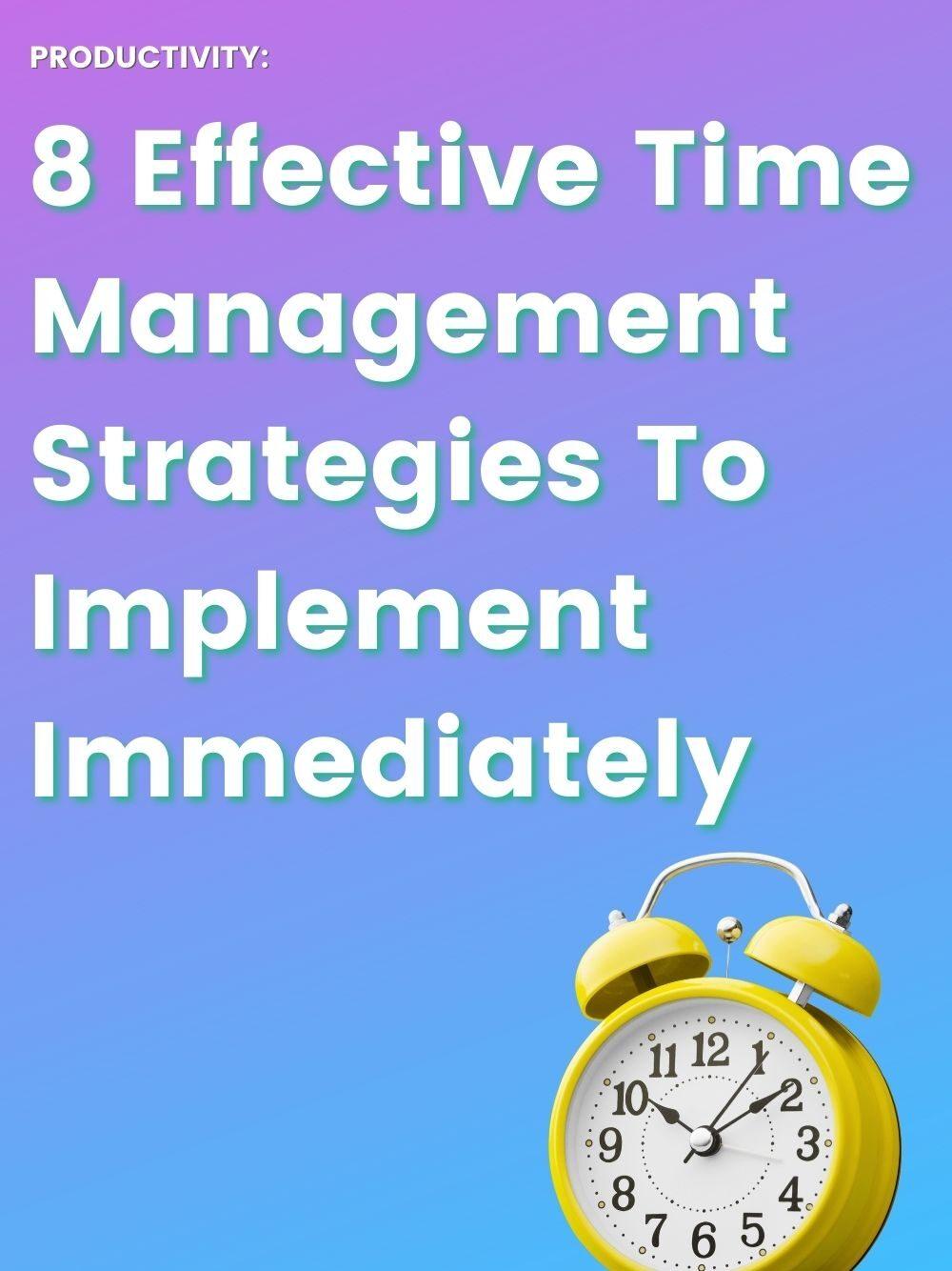Time management tricks for entrepreneurs - clock