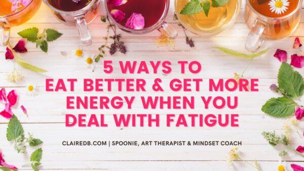 Energy Management - Eat better